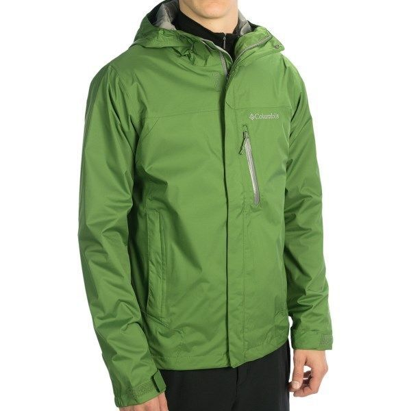 COLUMBIA MENS L WATERPROOF OMNI TECH RAIN/WIND JACKET NWT $90 ...