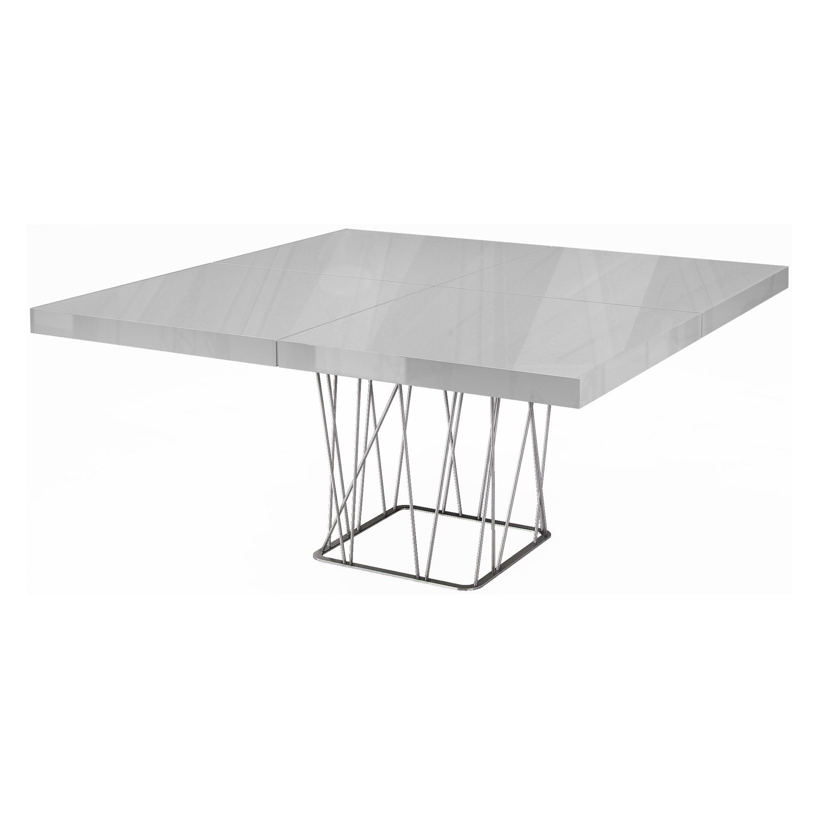 Modloft Clarges Dining Table White