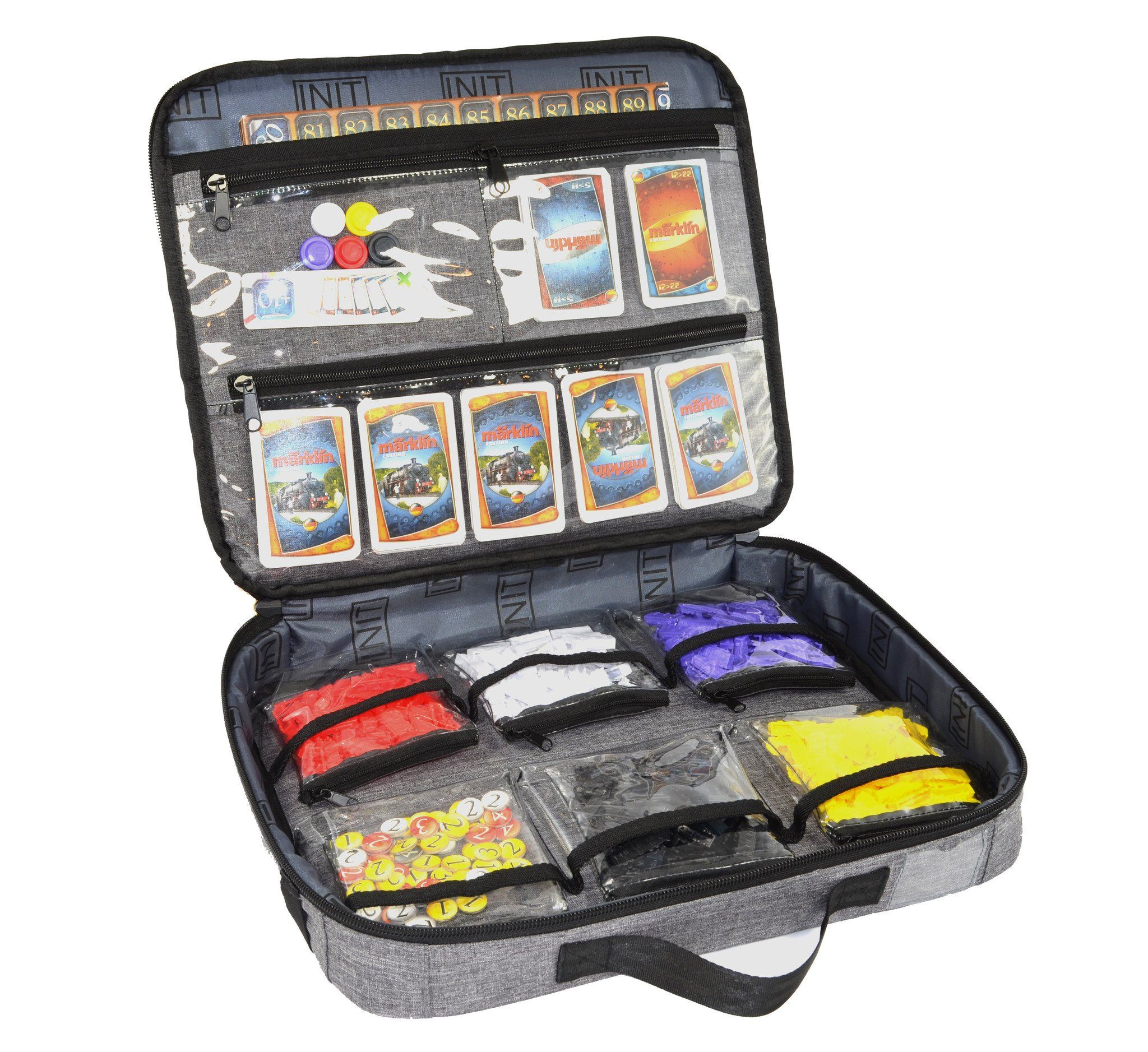 $ 29.99 USD - Travel case for our board games, so we can bring the fun on the run!  :) Classic Gamefolio Case 1.0