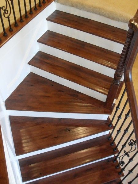 Best Winder Treads Iron Rail Google Search Traditional Staircase Stairs Stair Company 640 x 480