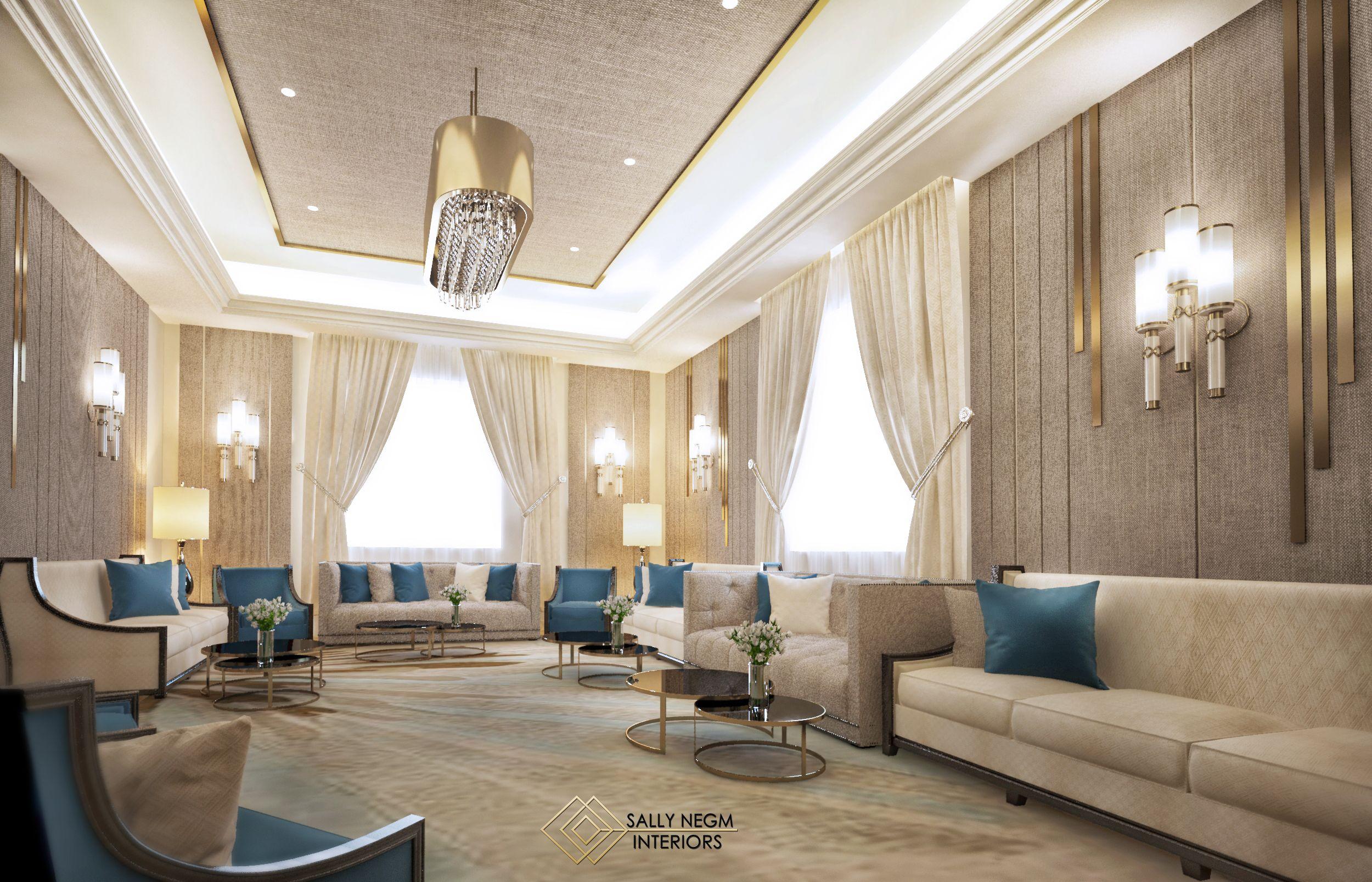 Men majlis interior design in a luxury modern style #luxury #modern ...