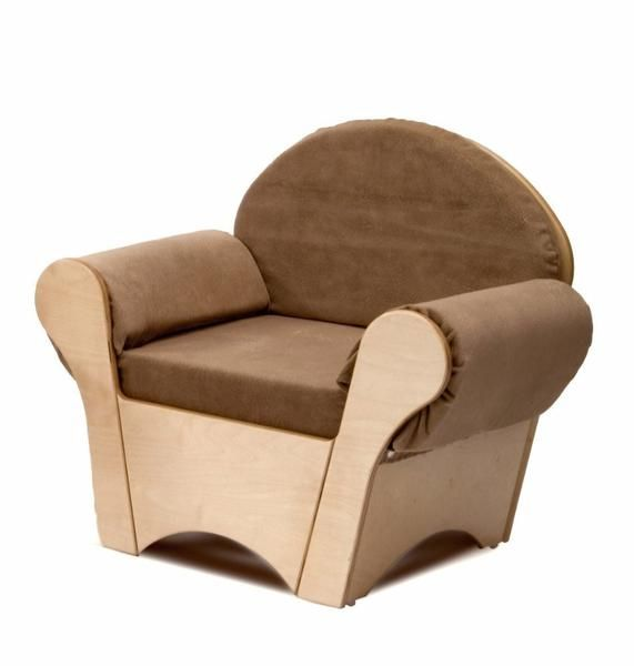 Whitney Brothers WB0845 Child s Easy Chair Tan
