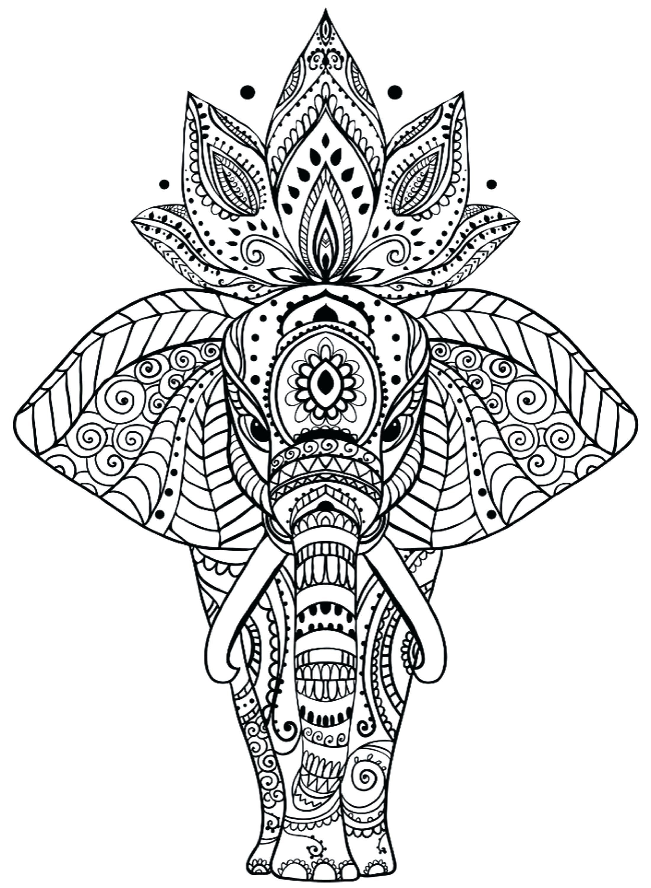 We Get Personal With Personalized Products By Treasuresbysabi Mandala Coloring Pages Elephant Coloring Page Mandala Coloring Books