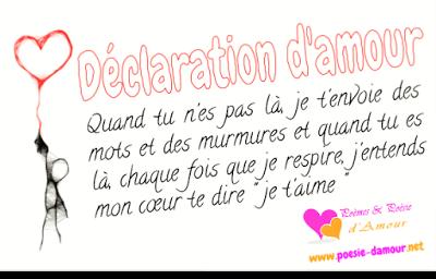Anthologie Des Plus Belles Déclarations Damour