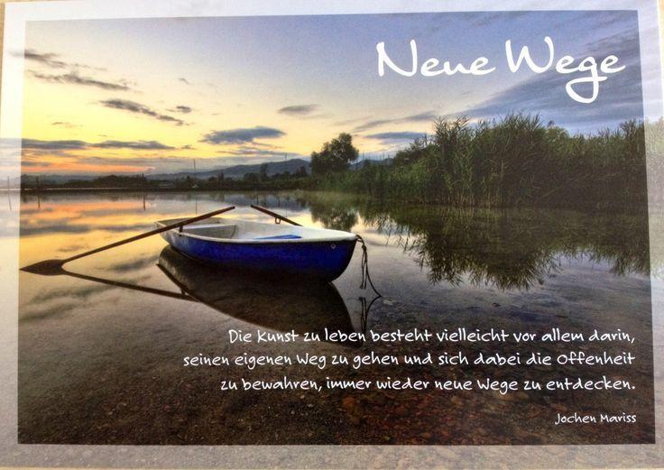 Schöne Aphorismen von Jochen Mariss zum Freundschaft, Reisen und