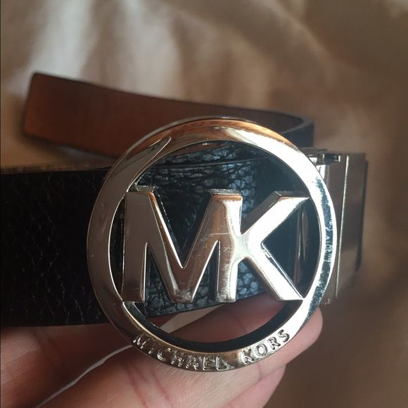 Michael Kors belt black Med Michael Kors belt. silver buckle Michael Kors Accessories Belts