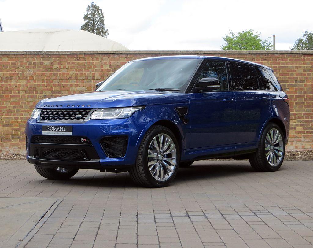 2015 Used Land Rover Range Rover Sport V8 Svr Range