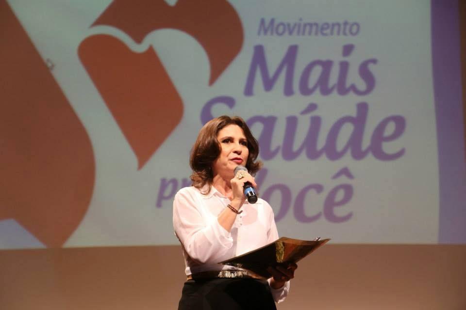 """Lançamento do """"Movimento Mais Saúde Pra Você"""" - Teatro do Centro Dragão do Mar de Arte e Cultura - Fortaleza/CE, abril/2014."""