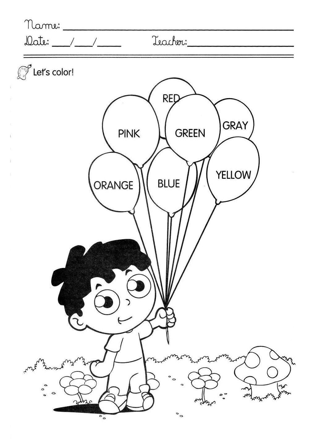 Well-known fichas de actividades sobre as cores em ingles - Pesquisa Google  NA58