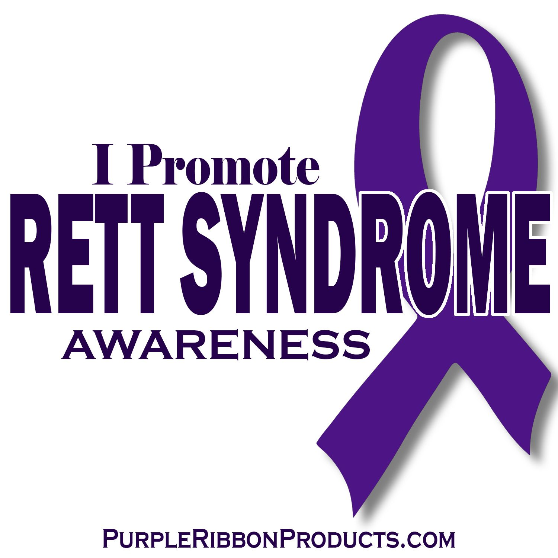 i promote rett syndrome awareness rett syndrome awareness