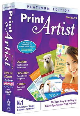 Print Artist Platinum 24 Free Download Latest Version For Windows It Is Full Offline Installer Stan Print Artist Learn Photo Editing Print