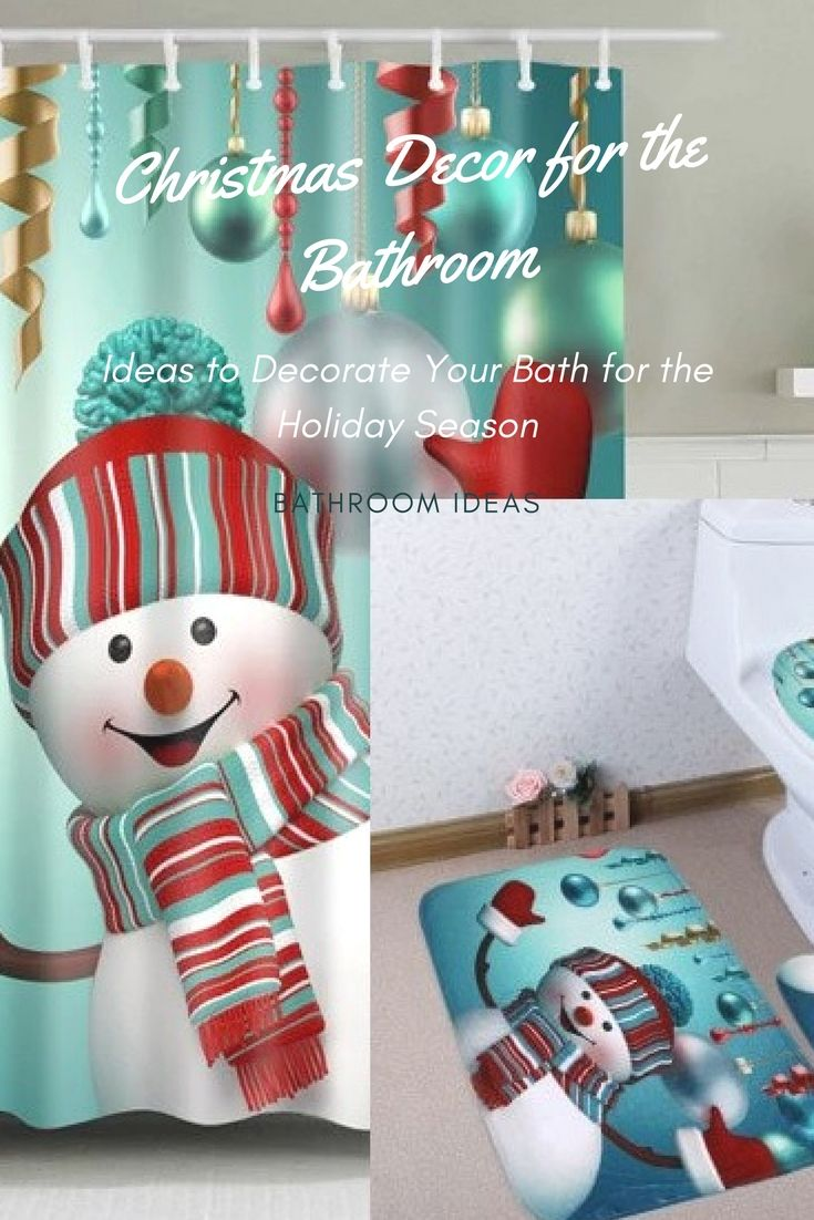 christmas bathroom decorations for the holidays when decorating for the holidays its always fun to spruce up the bathroom for your guests that visit - Christmas Bathroom Decor Ideas