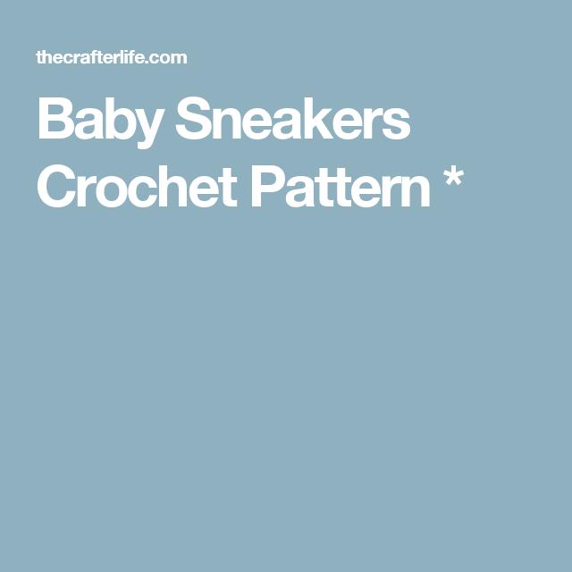 Baby Sneakers Crochet Pattern *
