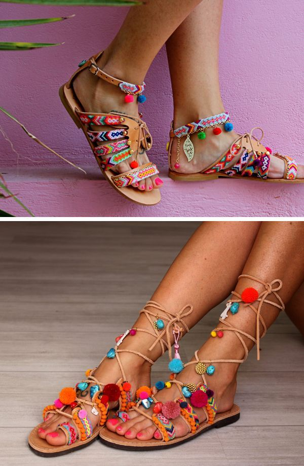 916a85c29ded7d THE FASHION FILES  BOHO CHIC GLADIATOR SANDALS