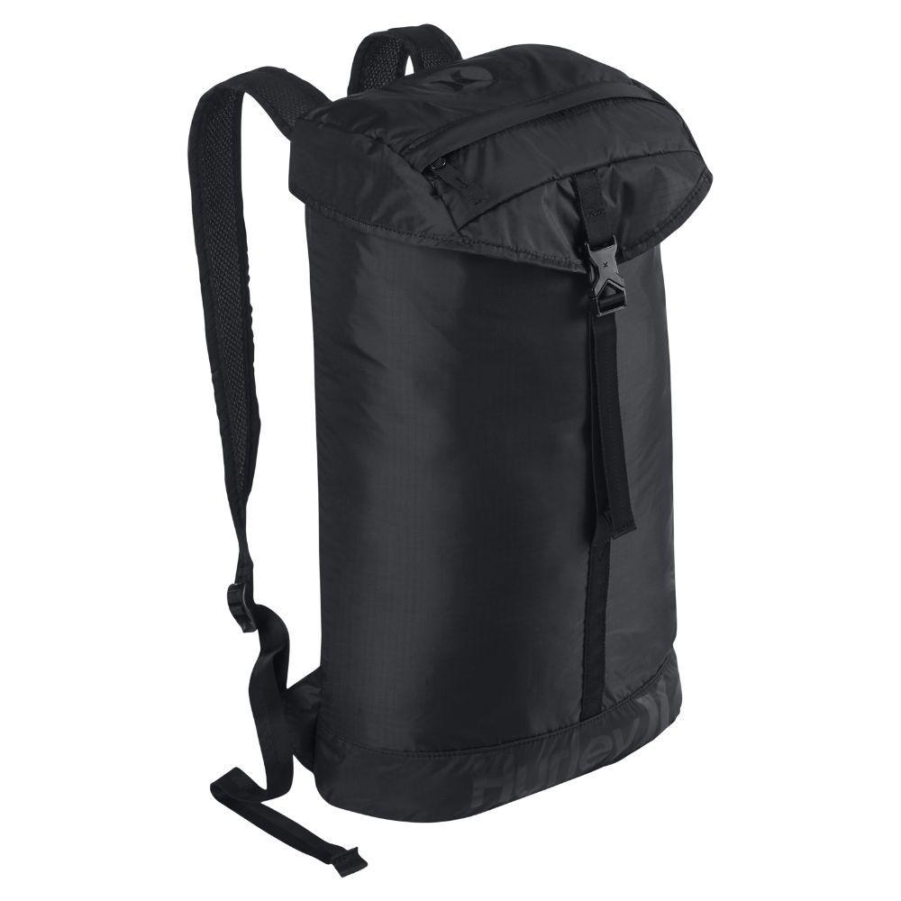 Hurley Renegade Packable Backpack (Black) | Black backpack