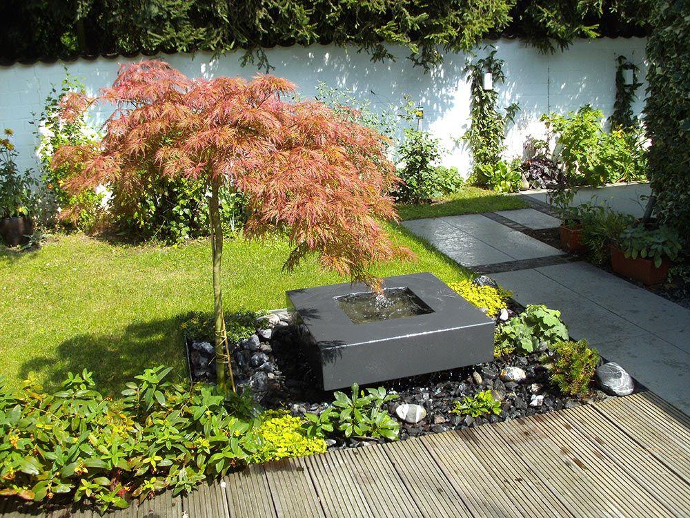 Referenzen Slink Ideen Mit Wasser Gartenbrunnen Wasserbecken Garten Landschaftsbau Fur Kleinen Hinterhof
