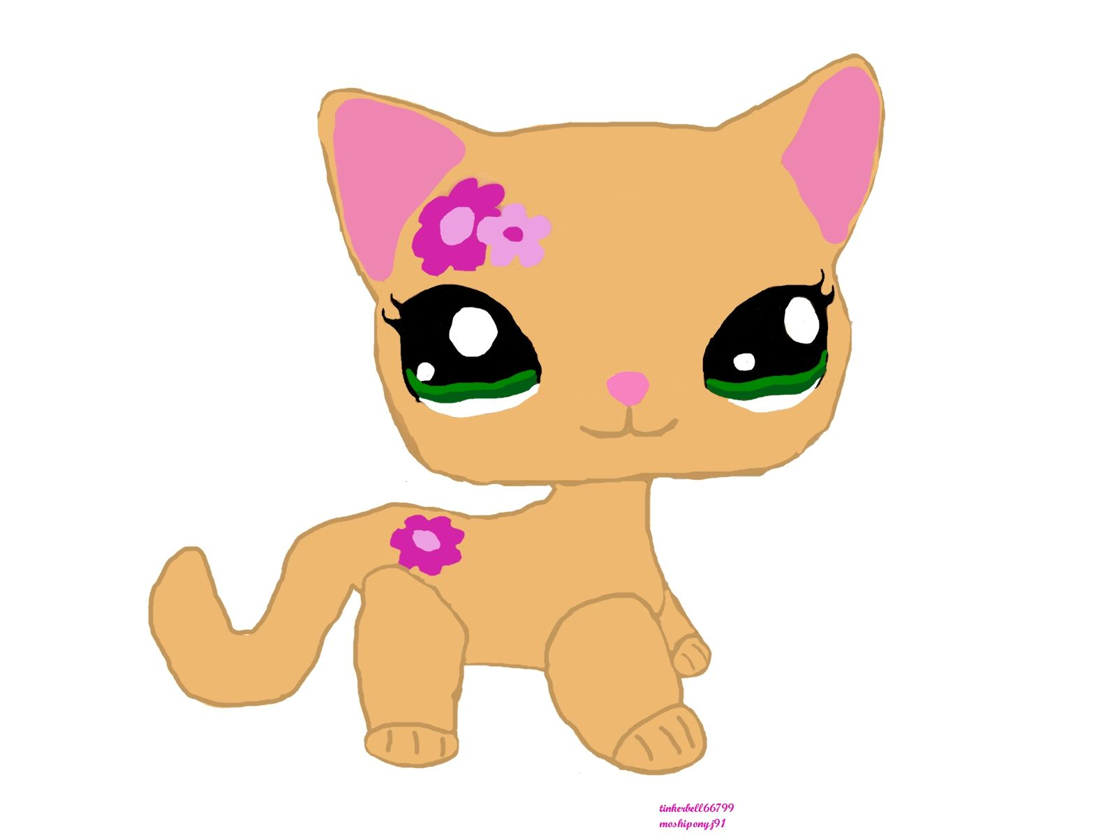 Coloring pages littlest pet shop - My Lps Kitty Fan Art Littlest Pet Shop Fan Art