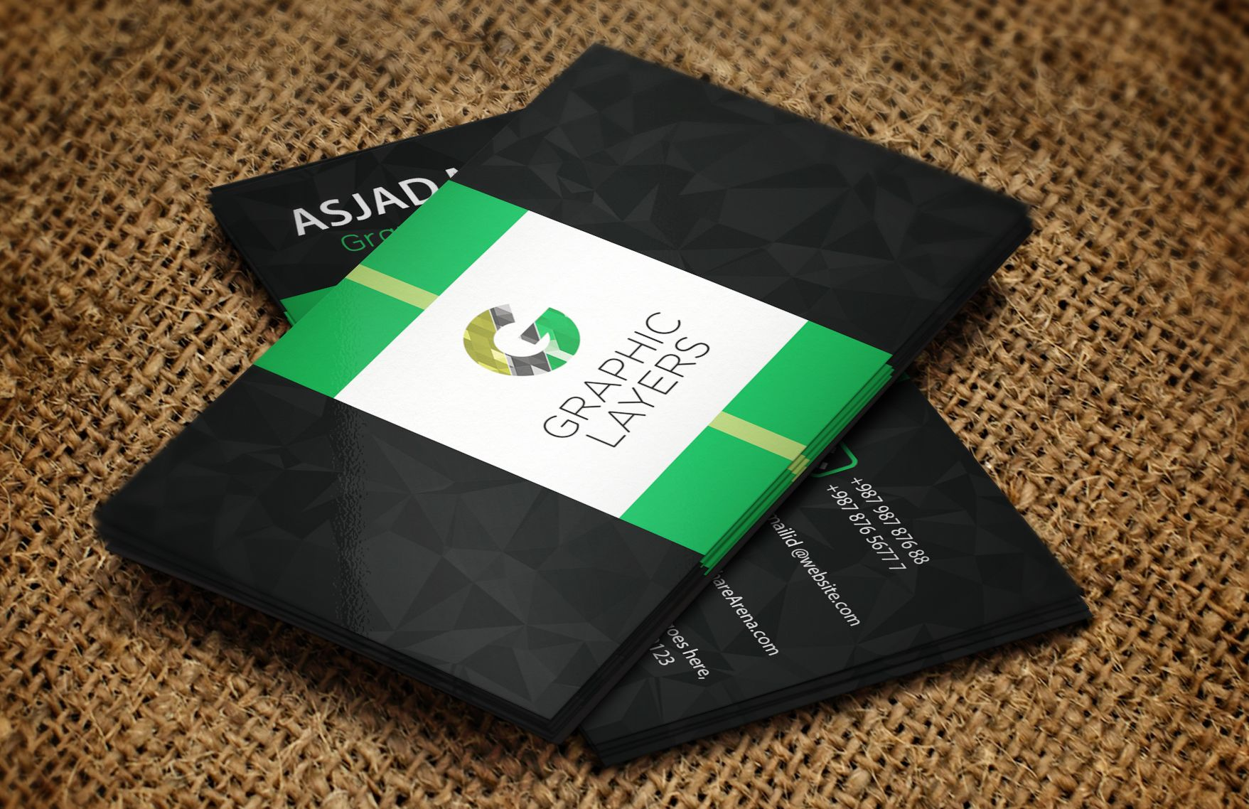 Must have Awesome Premium Business Card PSD Template https://gumroad ...