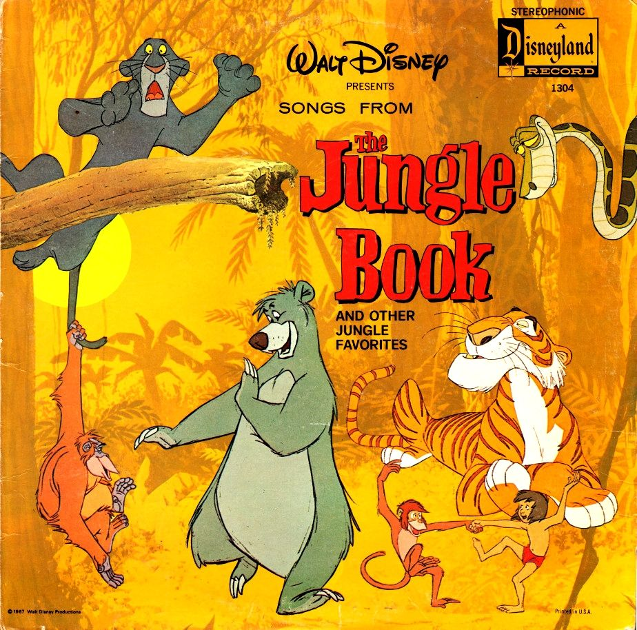 Songs From The Jungle Book Jungle Book Disney Jungle Book Disney Presents