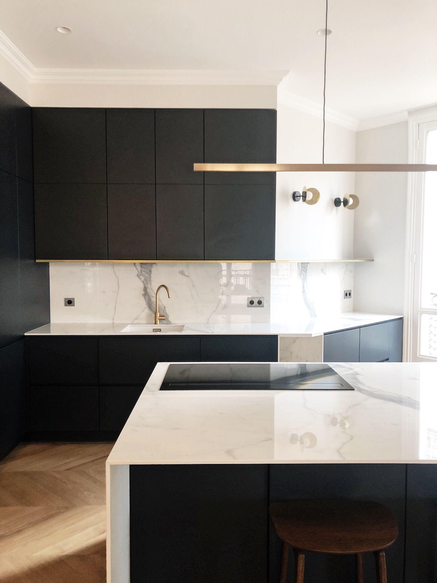 Plan Travail En Quartz emile augier | cuisines design, interieur design, cuisine