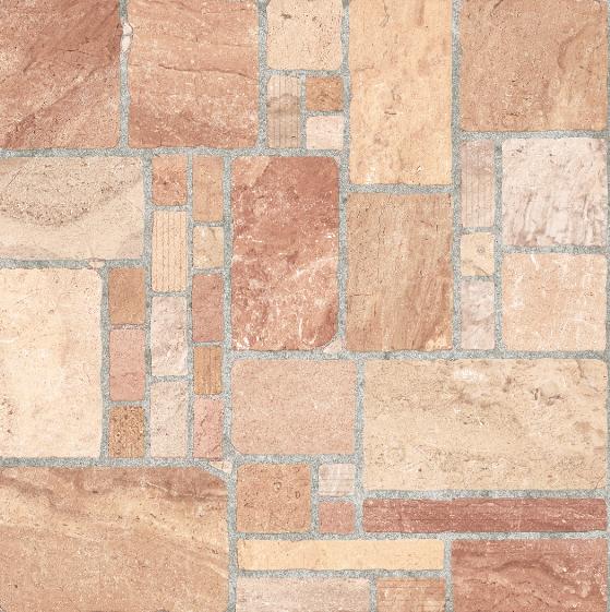 Piso rocalla de lamosa ideal para exterior terraza for Ceramica rustica para terraza