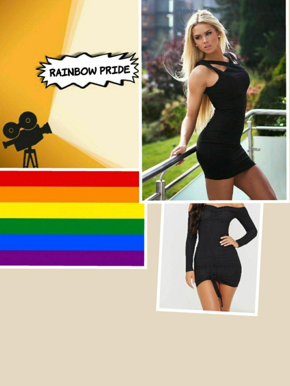 Pin By Chrissystewart On Jessica Rainbow Pride In 2021 Wear Black Dresses Wearing Black Black Dress [ 1440 x 1080 Pixel ]