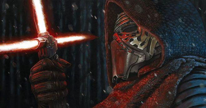 Chewbacca no quiso matar a Kylo Ren en 'Star Wars: El despertar de la Fuerza'