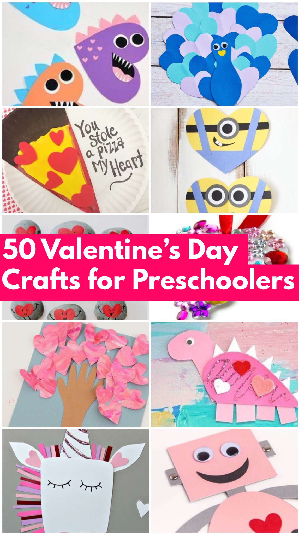 50 Easy Valentine S Day Crafts Amp Activities For
