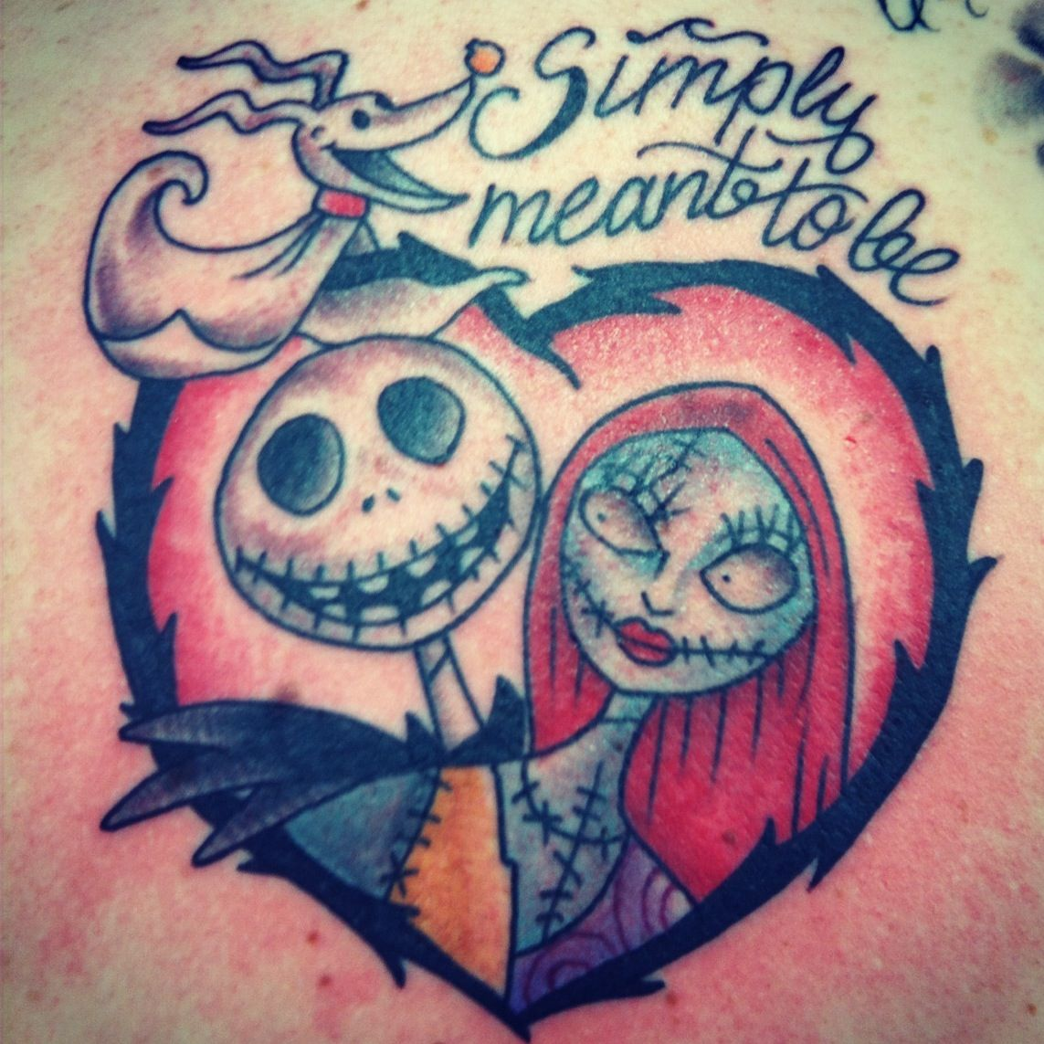 Nightmare before Christmas tattoo by instagram: @hinestattoo Ryan ...