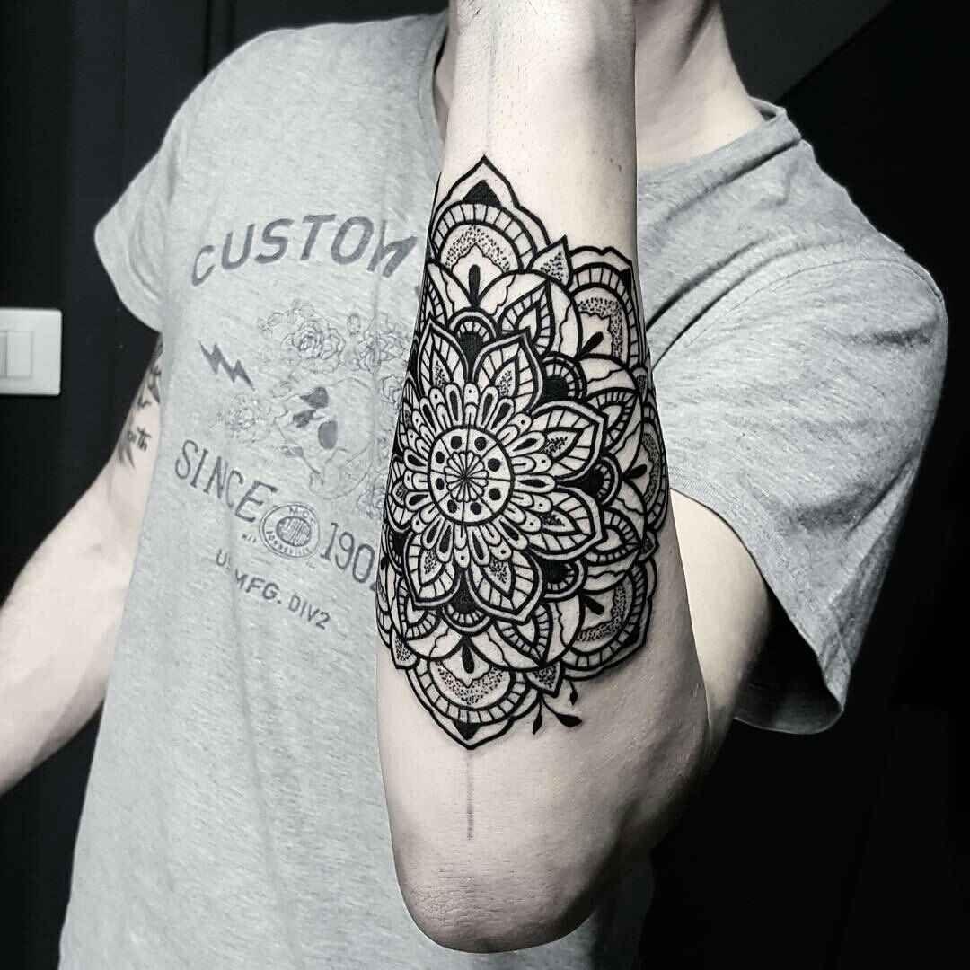 Tatuajes De Mandalas Para Hombres Con Diseños Increíbles Tato