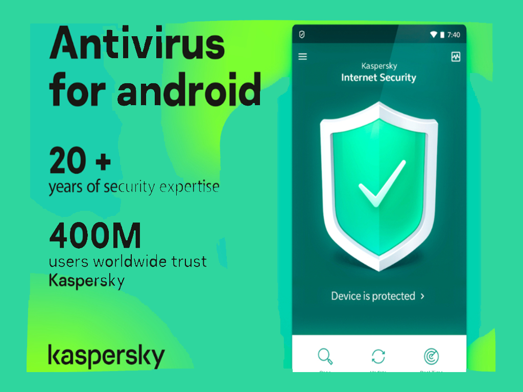 Kaspersky App in 2020 Android smartphone, Android apps