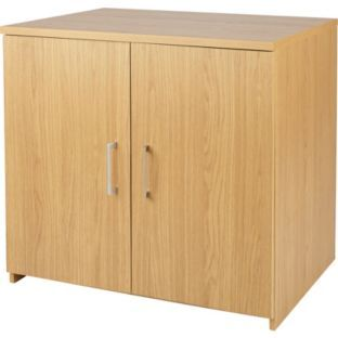 Buy Walton 2 Door Cupboard Oak Effect At Argos Co Uk Your Online Shop For Filing Cabinets And Office Storage Office Storage Cabinet Storage