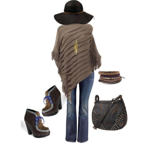 Boho Poncho - Plus Size | Plus Size Fashion | Pinterest ...
