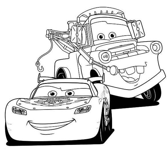 lightning mcqueen coloring pages | Disney\'s Cars Coloring Sheets ...