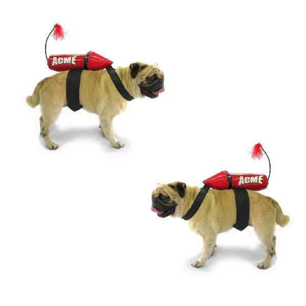 Details About Dog Costume Acme Rocket Costumes For Dogs Dress
