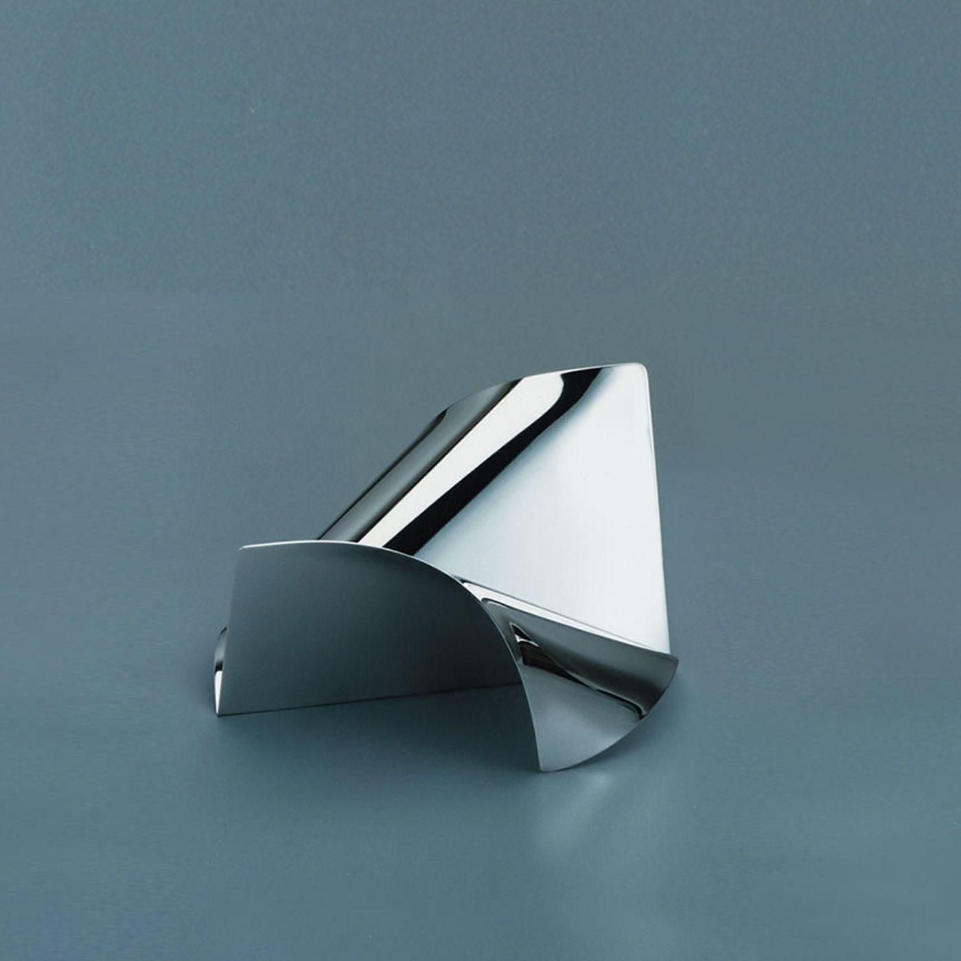 Soffio Brezza Silver Desk Set Silver Desk Desk Set Paper Holder