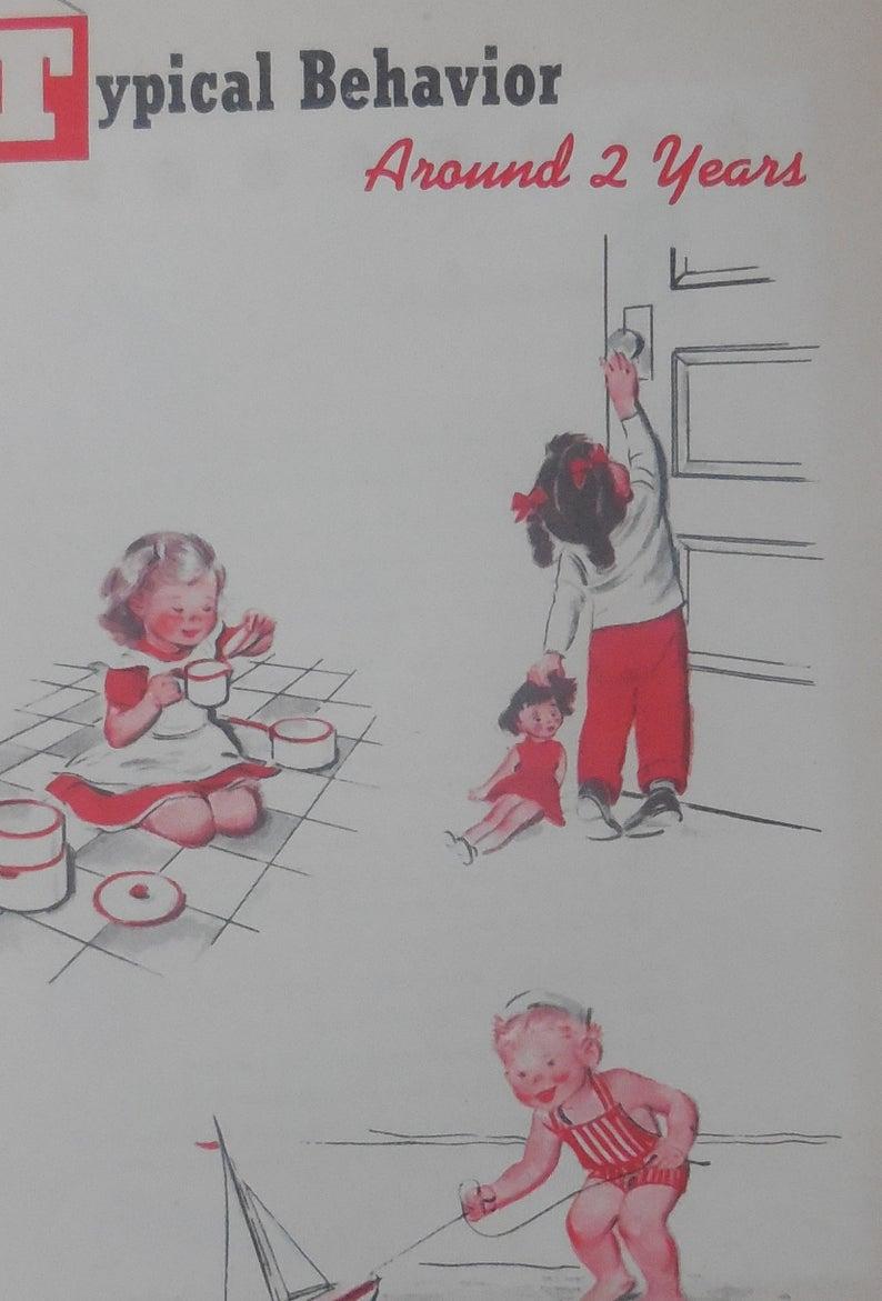 Vintage 1950s Child Safety Booklet Metropolitan Life