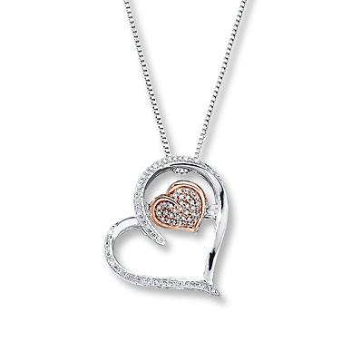 1702eff38ecf Diamonds in Rhythm 1 10 cttw Round-cut Sterling Silver 10K Gold ...