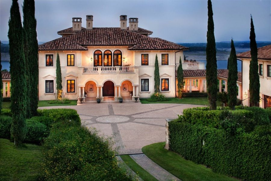 Grand Italian Palazzo Style Mansion in Austin, Texas
