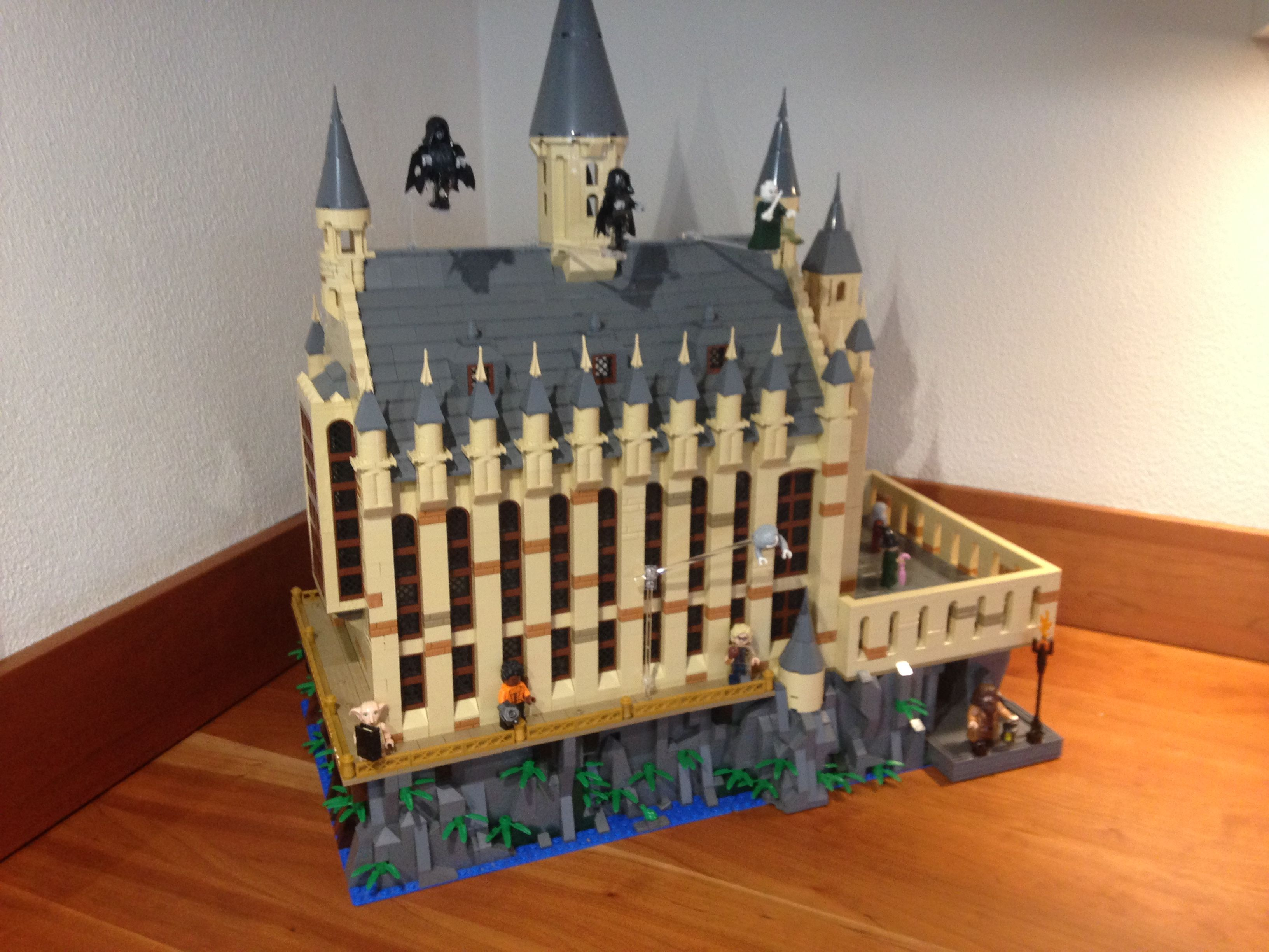 Lego Harry Potter Great Hall Moc Hogwarts In 2019 Lego Harry