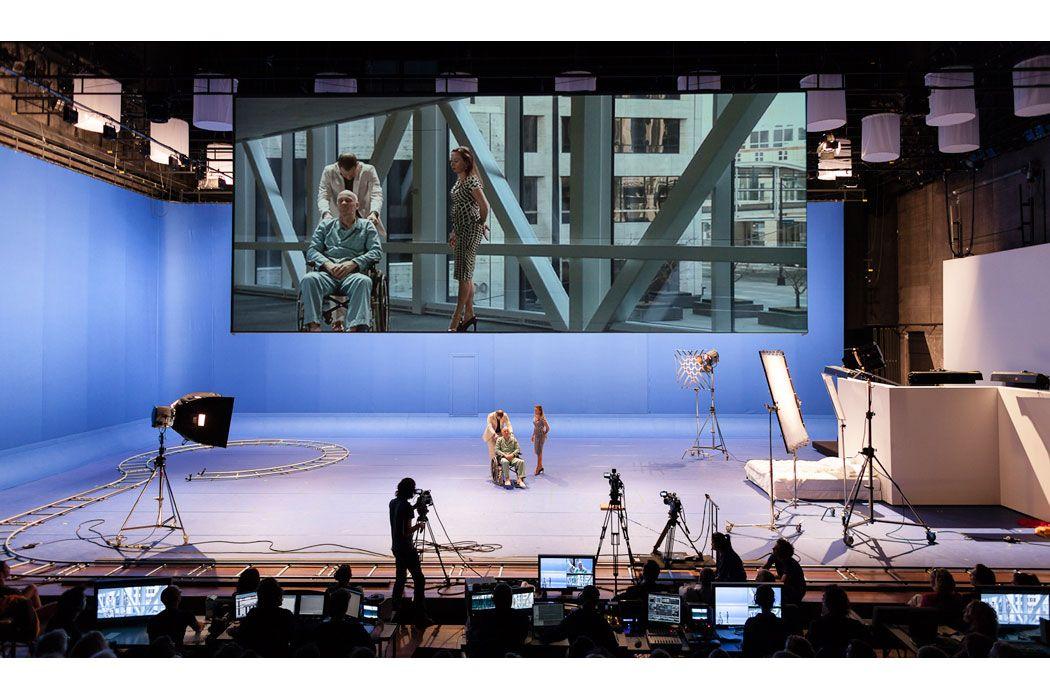 Antonioni Project Ivo Van Hove Jan Versweyvekd Scenic Design Theatres Scenic Design Scene Design