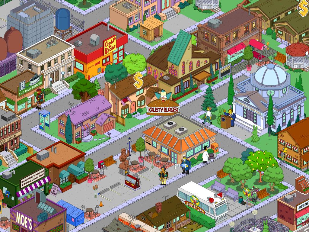 картинки города спрингфилда симпсоны
