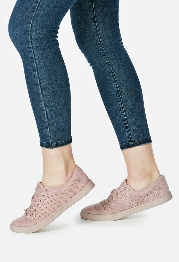 A trendy and modern perforated perforated perforated sneaker that'll look ultra cool with 89e5b7