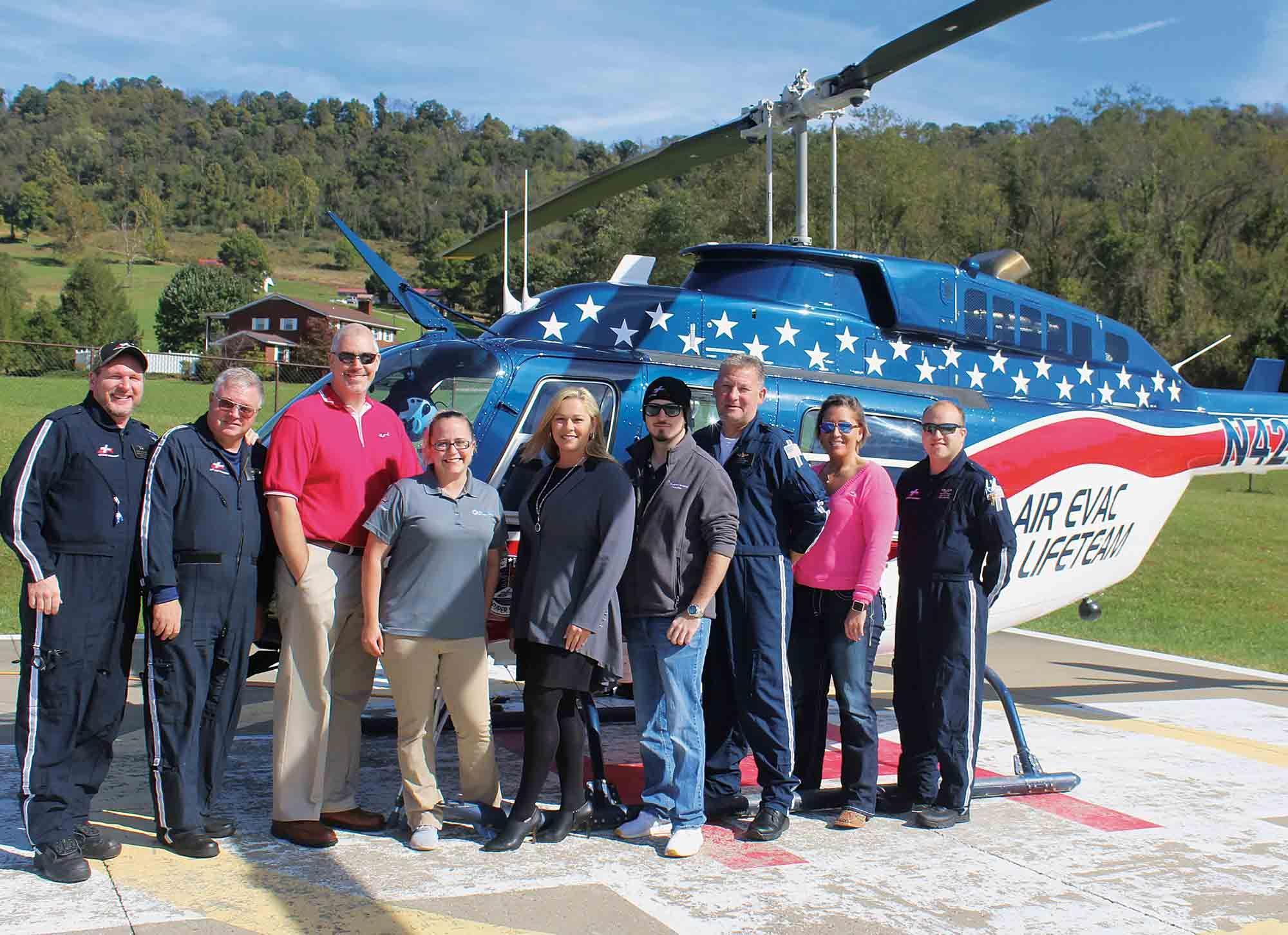 Air Evac Lifeteam celebrates 10th anniversary 10