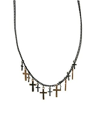 ASOS Mini Crosses Necklace