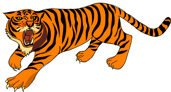 tiger clip art free bing images clip arts pinterest clip art rh pinterest com tiger clipart images black and white tiger clipart images black and white