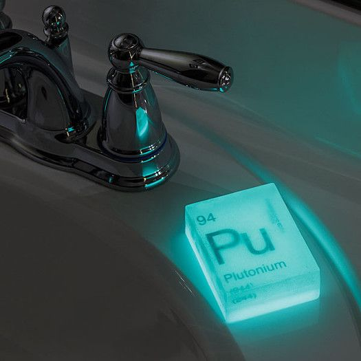 Glow In The Dark Nuclear Element Soap Bars