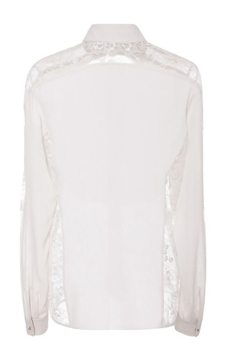 3cf520a3144b6 Jasmine Silk Georgette And Lace Top by Elie Saab for Preorder on Moda  Operandi