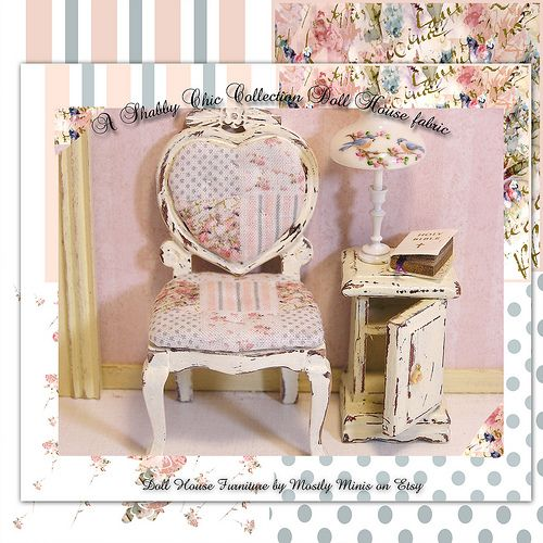 Shabby Chic Collection Doll House Furniture By Toni