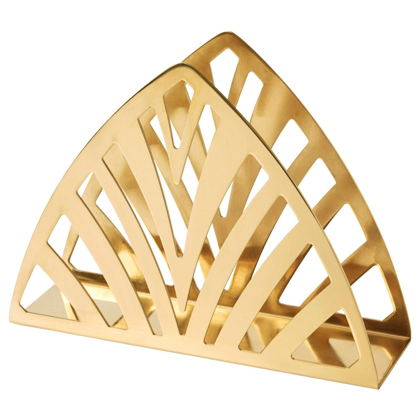 Tillstallning Brass Colour Napkin Holder Ikea Porte Serviette Serviettes Serviette De Table